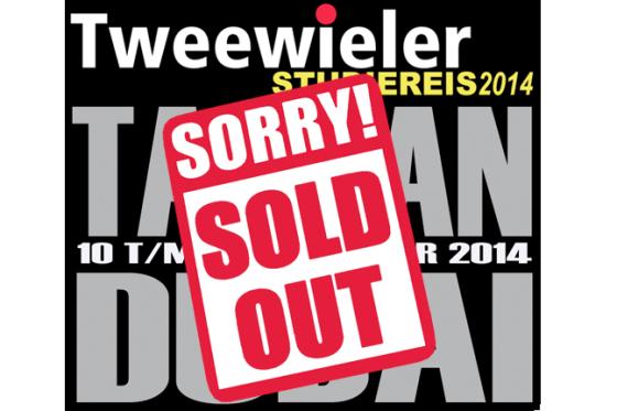 Tweewieler Studiereis 2014 snel uitverkocht