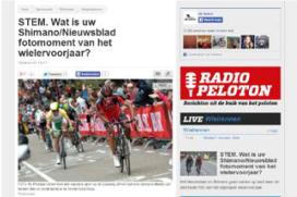 Shimano en Het Nieuwsblad fotomomenten 2014