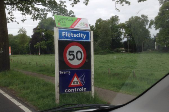 Ludieke marketingactie Fietscity