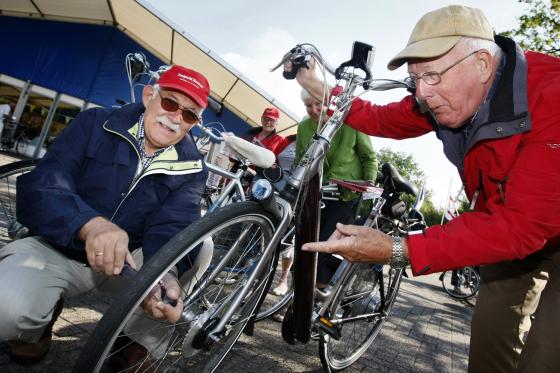 Elektrische fietsen testen