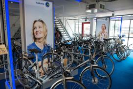 Gazelle commerciële training voor fietstechnici
