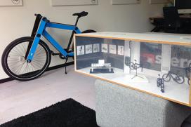 Sandwichbike in Stedelijk Museum