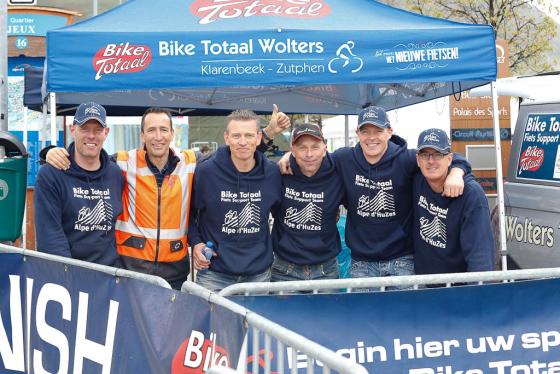 Topprestatie Bike Totaal-team Alpe d'HuZes 2014