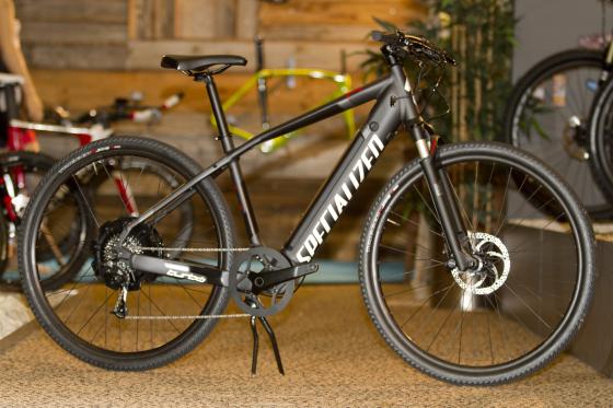 Specialized zet in op e-bikes binnen MY 2015 gamma