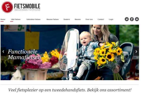 Koppeling Fietsmobile.nl en VMSII operationeel