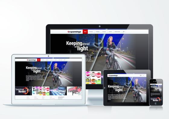 Spanninga lanceert nieuwe website