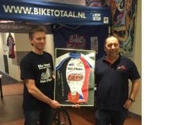 Bike Totaal Fiets Support Team tekent contract met Alpe d'HuZes