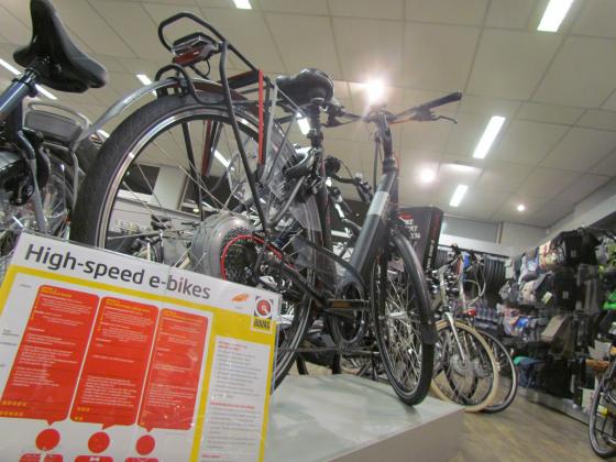 Prima debuutjaar voor high speed e-bikes