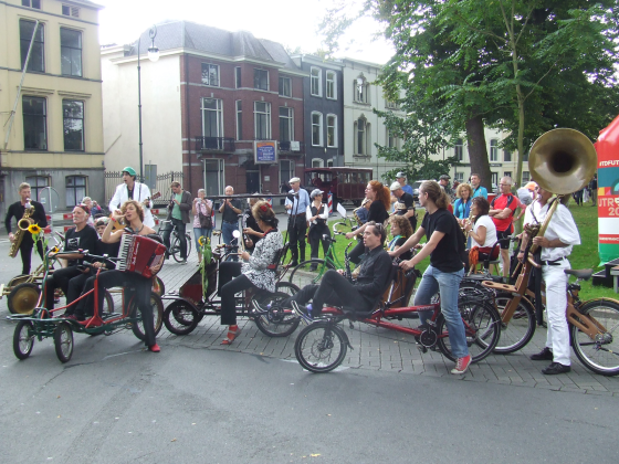 Orchestre Bicyclette opent Nationale (E-)Bike Testdagen