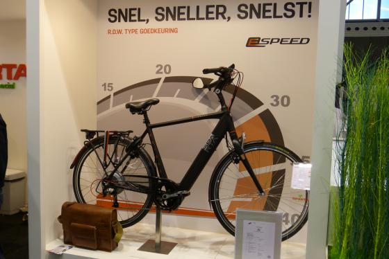 Gazelle en Kalkhoff in speed e-bike verkoopoverzicht