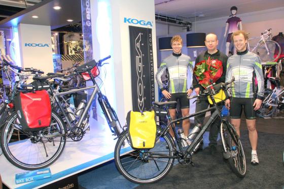 John Vermeulen sponsort fietstocht van Amsterdam naar Kaapstad