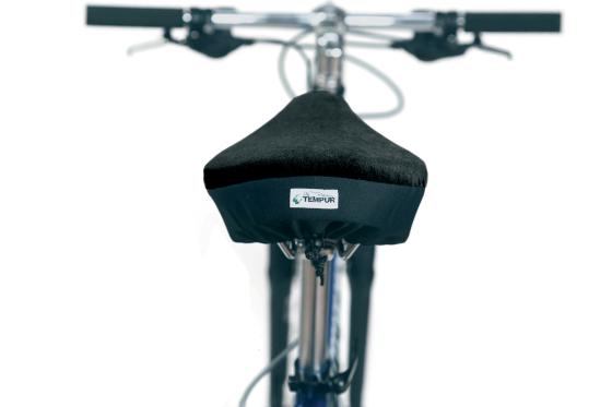 Materiaal TEMPUR nu ook gebruikt voor fietszadeldekje