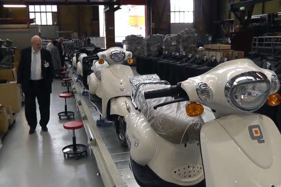 Opening Elektrische Scooter Fabriek Rotterdam