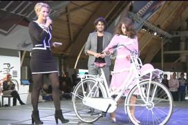 Modeshow met Anouk Smulders op KCU Bike Event