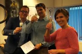 RAI bezoekt genomineerden Fiets en E-bike van het Jaar 2013