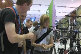 Video: De Vakantiefietser op Eurobike 2013