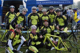 60 wielrenners op Shimano Ultegra D12 fiets tijdens Amstel Gold Race