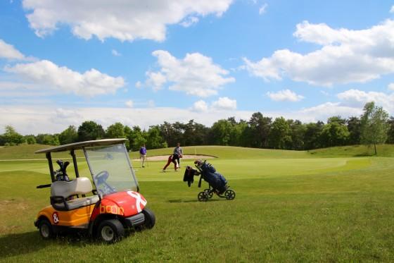 Ongedwongen sfeer op VEMS golfdag