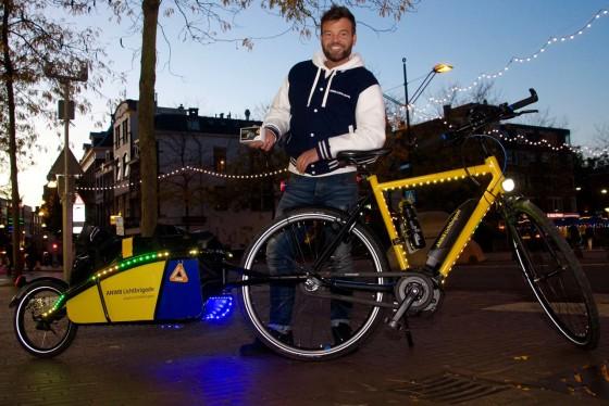 ANWB geeft voorlichting over fietsverlichting