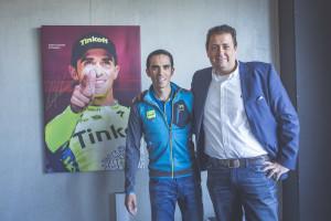 Contador met Mark Heylen van Wolvenberg.