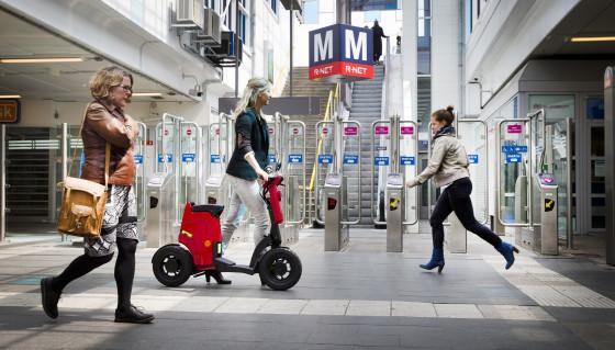 GiGi handige opvouwbare elektrische scooter