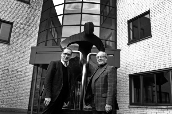 Geest Jaap en Peter waart na 50 jaar nog rond bij AGU