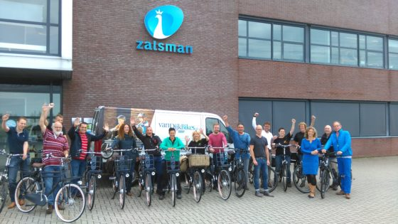 VanDijkbikes Kampen levert 'Spitsfietsen'