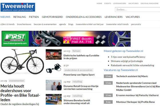 Rubriek Personalia toegevoegd aan Tweewieler.nl