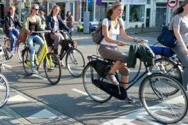 Amsterdamse fietsenzaak dicht vanwege heling