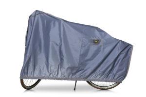 De VK E-BIKE hoes heeft ingebouwde luchtcirculatie onder de hoes, die zorgt voor een droge fiets en een droge accu.