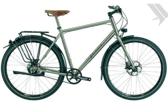 Pilot Cycles titanium trekking fiets