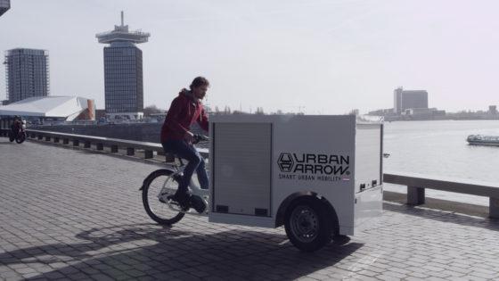 VIDEO: Urban Arrow combineert fiets- en autotechniek