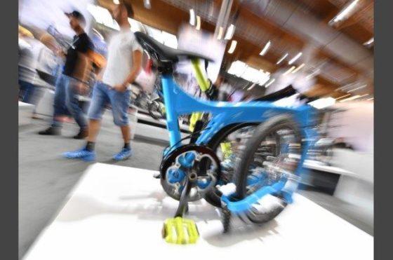 Eurobike wordt in 2018 een volslagen B2B-event en start op zondag 8 juli 2018. Foto Messe Friedrichshafen
