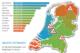Nederland fietsland 80x53