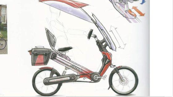 Voorbeelden van overdekte fietsontwerpen.