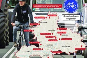 Wageningen laat speed pedelec toe op fietspad