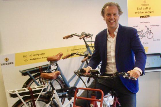 Michiel Koopman is een ervaren ondernemer en investeerder met passie voor fietsen. Foto Arnauld Hackmann