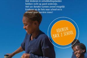 Juncker houdt Back2School actie voor goed doel