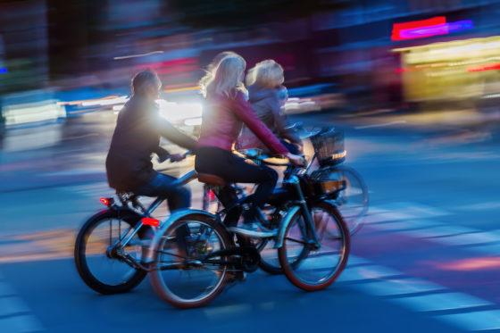 Een derde van alle fietsers heeft slechte verlichting