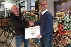 Winnaars Kruitbosch Bike Event ontvangen prijs voor beste idee