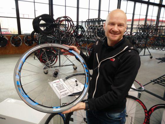 Edwin Koopmans, die vanaf augustus 2017 verantwoordelijk is voor de internationale sales van FFWD, heeft ambitieuze plannen. Foto redactie Tweewieler