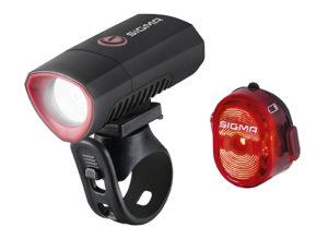 De Buster 300 is ook als complete set met het nieuwe achterlicht Nugget II Flash verkrijgbaar.