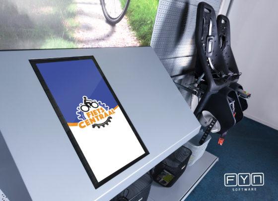 Interactieve Touchpoint bestelzuil van FYN Software
