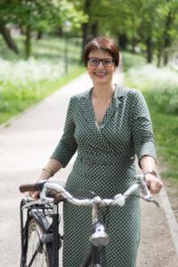 Saskia Kluit, directeur Fietsersbond. Foto Fleur Wiersma