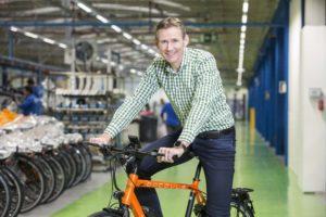 Sten van der Ham nieuwe MD Accell Nederland