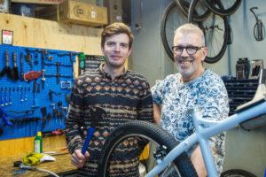 Binnenkijken bij trendy fietsenwinkel Kamu