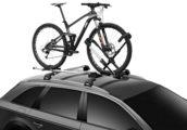 Thule met hydratatierugzak en fietsdragers op Bike Motion