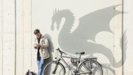Track&trace-zender spoort gestolen fiets op