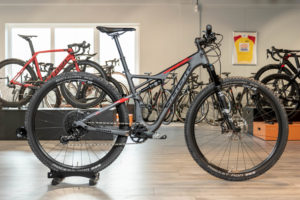 Badia SL is Sensa's eerste full suspension