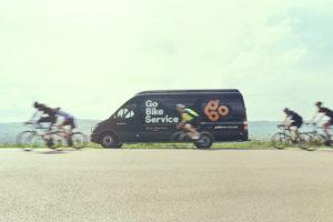 Go Bike Service is mobiel servicenetwerk voor fietsen